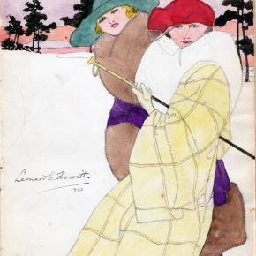 Two fashionable ladies from 1921 – by LCHowitt